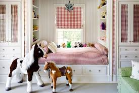 Kids Roman Shades - kids room with built in reading nook bed country u0027s room