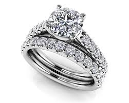 diamond wedding sets classic sparkle diamond wedding set roco s jewelry bakersfield ca