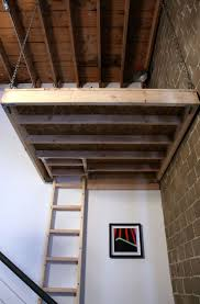 how to build end floating loft bed for kids youtube suspended from