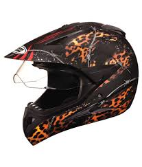 helmet motocross studds full face helmet motocross decor d1 matt black n12