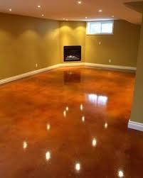 Cheap Basement Flooring Ideas Inexpensive Basement Flooring Options Over Concrete Floor