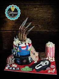 Movie Themed Cake Decorations Horror Movie Birthday Cake Cake By Les Gâteaux Du Château