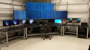 Home Office Gaming Setup 81237df32acf3d4af5f383c3b214a8ae Jpg 736 414 Nice Home Office