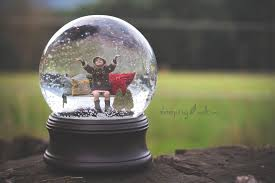 9 christmas snow globe psd template images snow globe template
