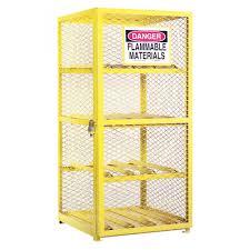 Horizontal Storage Cabinet Durham Egcc8 50 Horizontal 8 Cylinder Gas Lpg Steel Storage