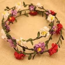 hair wreath paper flower crown hair wreath hair garland buy flower crown