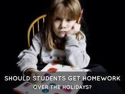 Holiday Homework by Paige Mizutani
