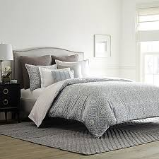 Bed And Bath Duvet Covers Real Simple Anya Reversible Duvet Cover In Dusty Blue Bed Bath
