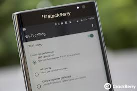 enable wi fi calling on your blackberry priv crackberry com