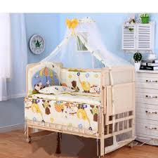 Baby Crib Beds 3 Grade Adjust Baby Bed With Wheels No Paint Baby Crib With