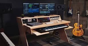 How To Build A Home Studio Desk by Platform By Output A Studio Desk For Musicians