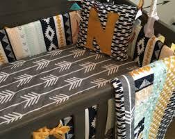 rustic crib bedding etsy