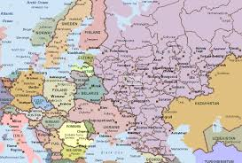 european russia map cities russia map europe major tourist attractions maps