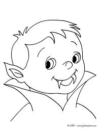 coloriages petit vampire à colorier fr hellokids com