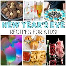 new years eve recipes for kids i heart arts n crafts