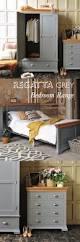 white washed bedroom furniture sets distressed wood grey frame
