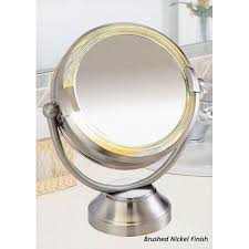 design cordless lighted makeup mirror led lighted mirror