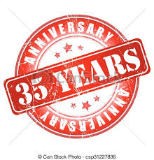 35 year anniversary 35 years anniversary st vector illustration vectors search