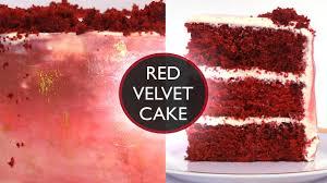 the best red velvet cake recipe moist u0026 fluffy asmr treat