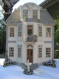 French Chateau Style Homes by Dollhouses By Robin Carey Chateau De Morsan Dollhouse