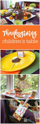 simple thanksgiving table our parties bright u0026 colorful thankgiving kids u0027 table
