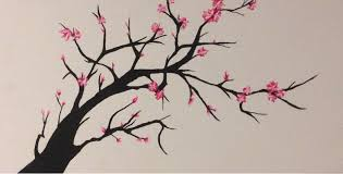cherry blossom tree drawing dying cherry blossom treemexjackass on