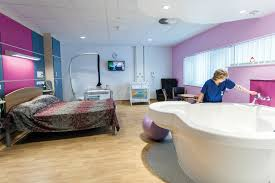 north middlesex university hospital maternity unit designing