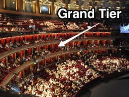 Royal Albert Hall Floor Plan 12 Seat Grand Tier Box At Royal Albert Hall On Sale For 2 5