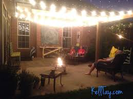 Patio Hanging Lights Lovely Patio Hanging Lights What I Did This Summer Kelltay
