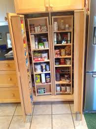 Tall Kitchen Cabinet Pantry Kitchen Tall White Kitchen Pantry Cabinet With Six Shelving Unit