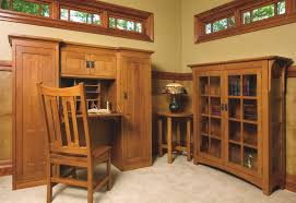 Craftsman Style Computer Desk Craftsman Style Furniture Home Office Craftsman With Arts Crafts