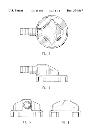 6 Floor Drain by Patent Usd374067 Water Softener Floor Drain Adapter Google Patents