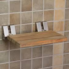 Bathroom Shower Chair Enjoyable Wood Shower Chair On Modern Chair Design With Additional
