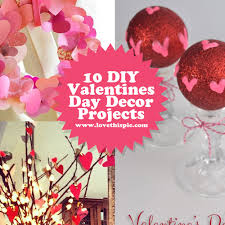 Valentines Day Decor 10 Diy Valentines Day Decor Projects