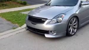nissan altima coupe dubai motorized license plate show n u0027 go on a nissan altima youtube