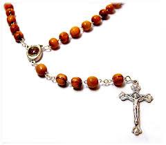 christian rosary jerusalem soil rosary roasry with jerusalem soil mzs18r 9 00