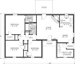 1 story house plans lovely 3 bedroom home design plans on bedroom for 3 bedroom house