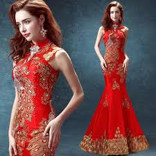 wedding dress batik aliexpress buy cheongsam dress mermaid traditional