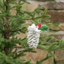 white pine cone ragon house holiday collection