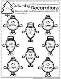 december preschool worksheets preschool worksheets