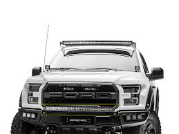 2017 f150 light bar zroadz f 150 front bumper 40 in curved led light bar mounting