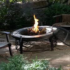 Lowes Firepits Pit Spark Screen Replacement Material Lowes Hixathens