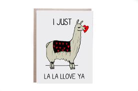 llama love card llama llama card love llama love