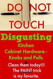 How To Paint Kitchen Cabinet Hardware To Clean Kitchen Cabinet Hardware And Knobs
