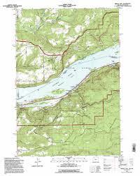Yacolt Washington Map by Bridal Veil Topographic Map Or Wa Usgs Topo Quad 45122e2