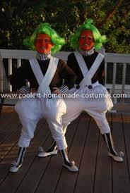 Oompa Loompa Halloween Costumes Adults Creative Oompa Loompa Couple Costume Oompa Loompa Costume