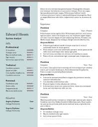 Resume Templates To Download Free Resume Template Download For Word Resume Template And