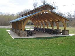 Picnic Shelter Plans View All Shelter Photos Rent A Picnic - Backyard shelters designs