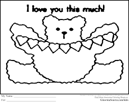 cute coloring pages to print ginormasource kids