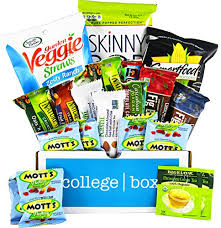 College Care Package Collegebox U2013 Healthy College Care Package U2013 Granola Bars Fruits